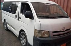 Foreign Used Toyota HiAce 2009 Manual