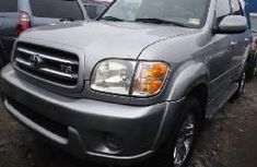 Foreign Used 2004 Toyota Sequoia Petrol