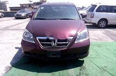 Nigeria Used Honda Odyssey 2007 Model Red