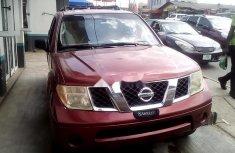 Nigeria Used Nissan Pathfinder 2006 Model Red