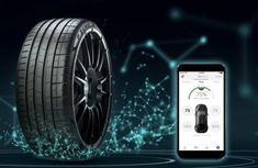 Pirelli designed Cyber Tire to communicate with cars via 5G network