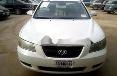 Nigeria Used Hyundai Sonata 2007 Model White