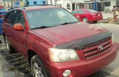 Foreign Used 2002 Toyota Highlander for sale