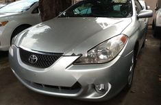 Foreign Used Toyota Solara 2006 Model Silver