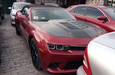 Foreign Used Chevrolet Camaro 2015 Model Red