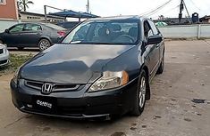 Super Clean Nigerian used  Honda Accord 2004