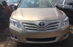Used Toyota Camry Foreign 2008 Model Gold