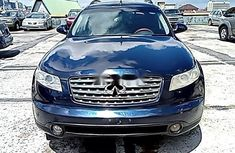 Nigeria Used Infiniti FX 2004 Model Gray