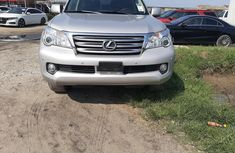 Foreign Used Lexus GX 2012 Model Silver
