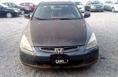 Nigeria Used Honda Accord 2005 Model Gray