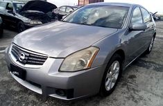 Nigeria Used Nissan Maxima 2007 Model Gray