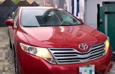Nigeria Used Toyota Venza 2012 Model Red