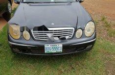Nigeria Used Mercedes-Benz E320 2004 Model Black