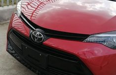 Foreign Used Toyota Corolla 2019 Model Red