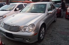 Foreign Used Mercedes-Benz C280 2007 Model Silver