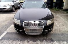 Nigeria Used Audi A6 2008 Model Black