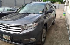 Foreign Used Toyota Highlander 2011 Model Gray