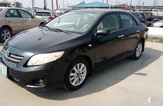 Nigeria Used Toyota Corolla 2008 Model Black