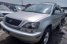 Foreign Used Lexus RX 2001 Model Silver