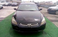 Nigeria Used Honda Accord 2003 Model Black