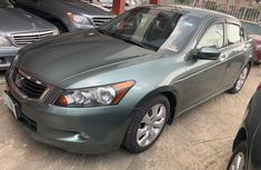 Foreign Used Honda Accord 2009 Model Green