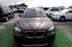 Nigeria Used BMW X1 2014 Model Brown