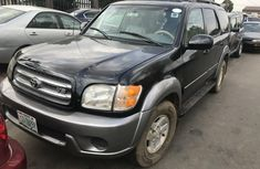 Nigeria Used Toyota Sequoia 2001 Model Gray