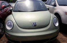 Foreign Used Volkswagen Beetle 2007 Model Green
