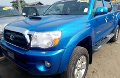 Foreign Used Toyota Tacoma 2007 Model Blue