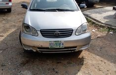 Super Clean Nigerian used 2004 Toyota Corolla