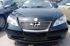 Foreign Used Toyota ES 2008 Model Black
