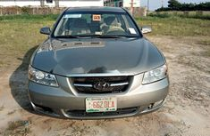 Nigeria Used Hyundai Sonata 2008 Model Green