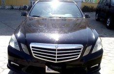 Nigeria Used Mercedes-Benz E350 2011 Model Black