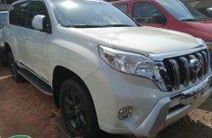 Foreign Used Toyota Land Cruiser Prado 2014 Model White