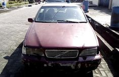 Nigeria Used Volvo S70 1997 Model Red
