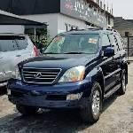 Foreign Used Lexus GX 56 2006 Model Blue