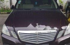 Nigerian Used 2010 Mercedes-Benz E300 Petrol Automatic