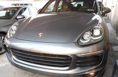 Foreign Used Porsche Cayenne 2015 Model Silver