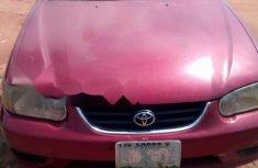 Nigeria Used Toyota Corolla 2001 Model Red