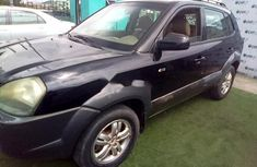 Nigeria Used Hyundai Tucson 2008 Model Black