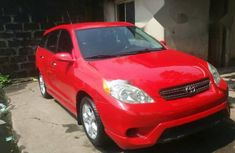 Foreign Used Toyota Matrix Model Red