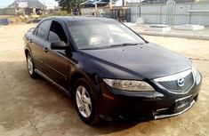 Nigerian used Mazda 6 2004 Black
