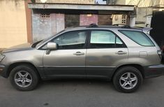 Nigeria Used Lexus RX300 2003 Model Gold for Sale