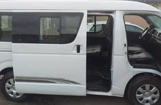 Toyota Hiace Bus 2013 | Clean Nigerian Used White Bus
