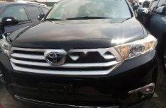Foreign Used Toyota Highlander 2012 Model Black