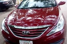 Foreign Used Hyundai Sonata 2014 Model Red
