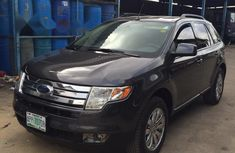 Nigeria Used Ford Edge 2007 Model Black