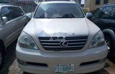 Nigeria Used Lexus GX 2003 Model White