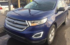 Foreign Used Ford Edge 2016 Model Blue