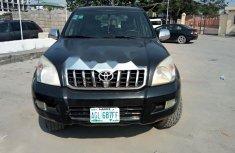 Nigeria Used Toyota Land Cruiser Prado 2006 Model Black